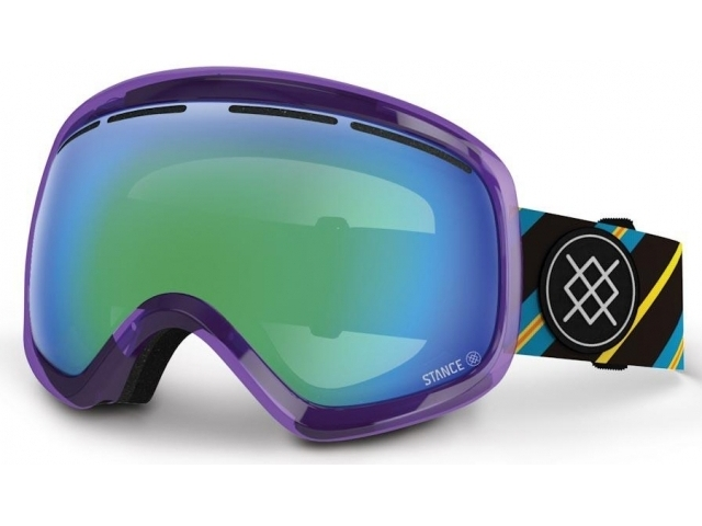 Goggles Von Zipper Skylab Stance Eggplant Translucent/quasar Chrome