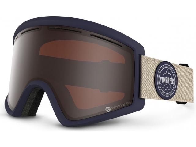 Goggles Von Zipper Cleaver S.i.n Navy/presimmon Chrome