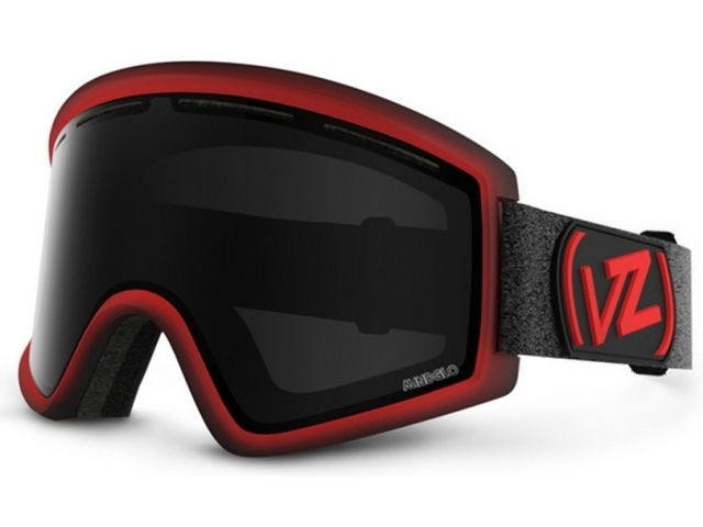Goggles Von Zipper Cleaver Mindglo Red/black Out