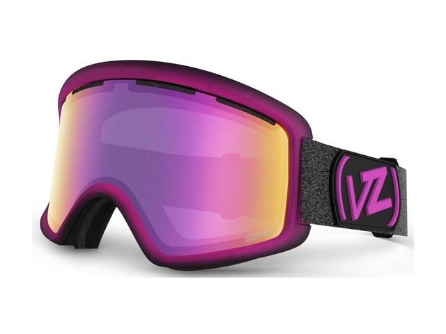 Goggles Von Zipper Beefy Mindglo Pink/smoke Pink C