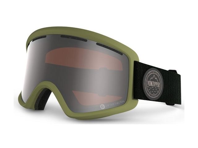 Goggles Von Zipper Beefy S.i.n Green/persimmon Chrome