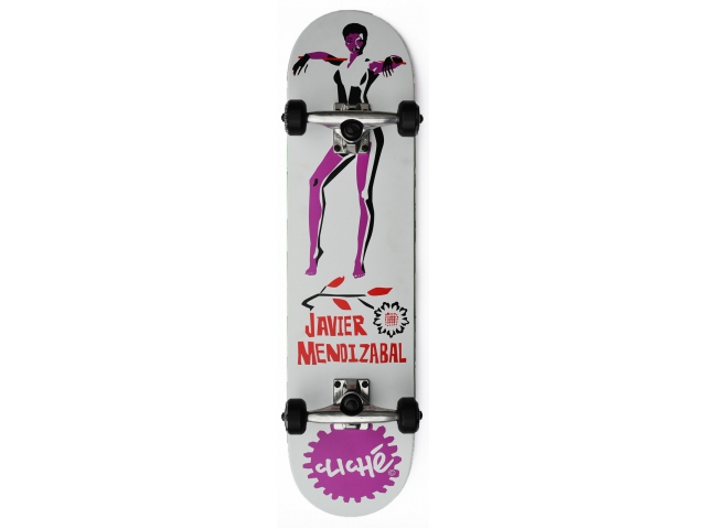 Skate Complet Cliche Mendizabal Pin Up V-ply 7.75