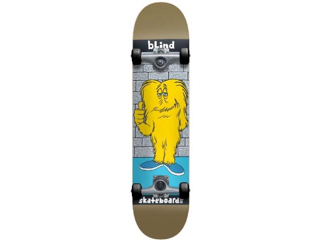 Skate Complet Blind Looney Monster Gold 7.5