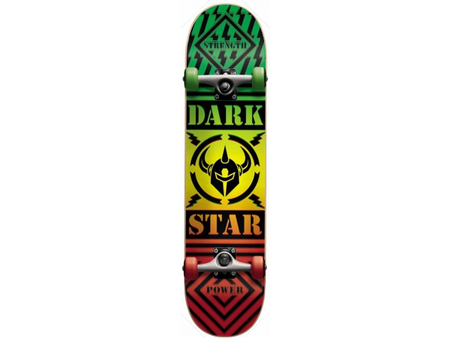 Skate Complet Darkstar Blunt Rasta 8.0