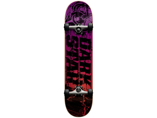 Skate Complet Darkstar Splatter Sunset Red 7.6
