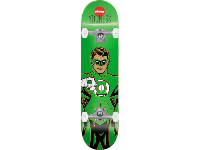 Skate Complet Almost Youness Green Lantern 8.0