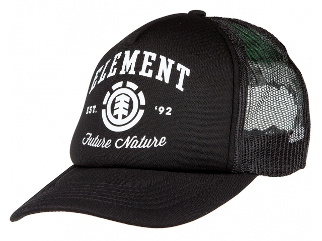 Sapca Element Wallace Trucker Black