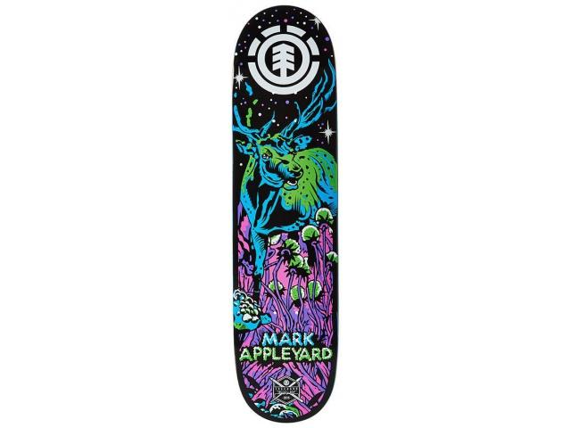 Placa Skate Element Appleyard Neon Night 7.87