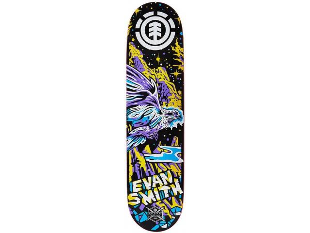 Placa Skate Element Evan Neon Night 7.8