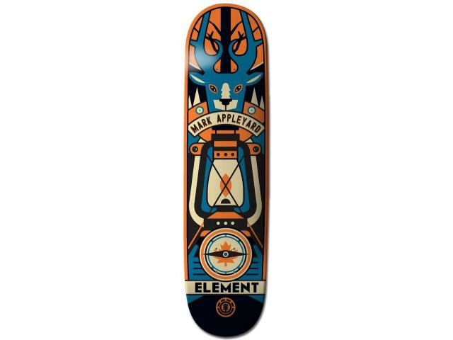 Placa Skate Element Appleyard Totem 8.1