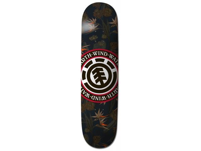Placa Skate Element Sketch Floral Seal Assorted 7.9