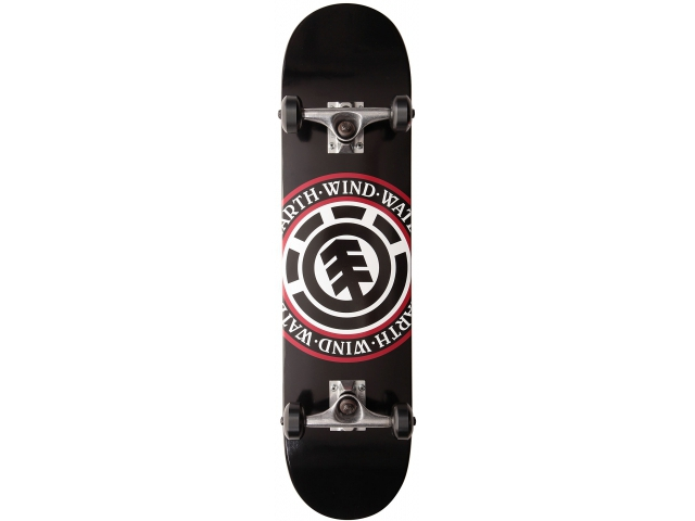 Skate Complet Element Seal Black 7.75
