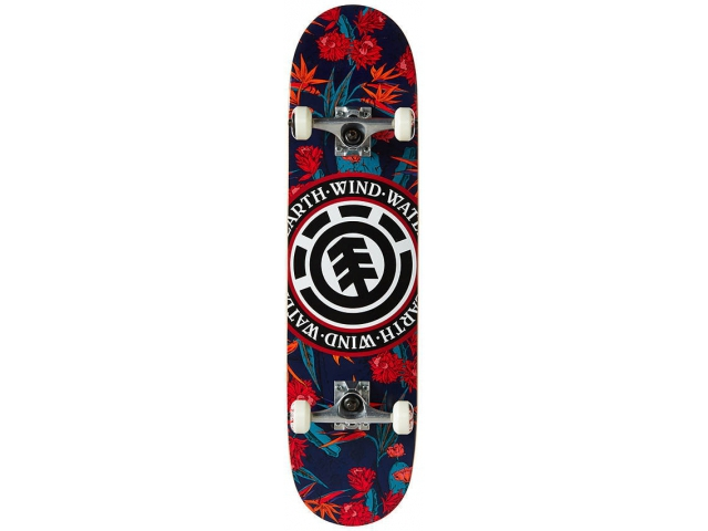 Skate Complet Element Sketch Floral Seal 7.8