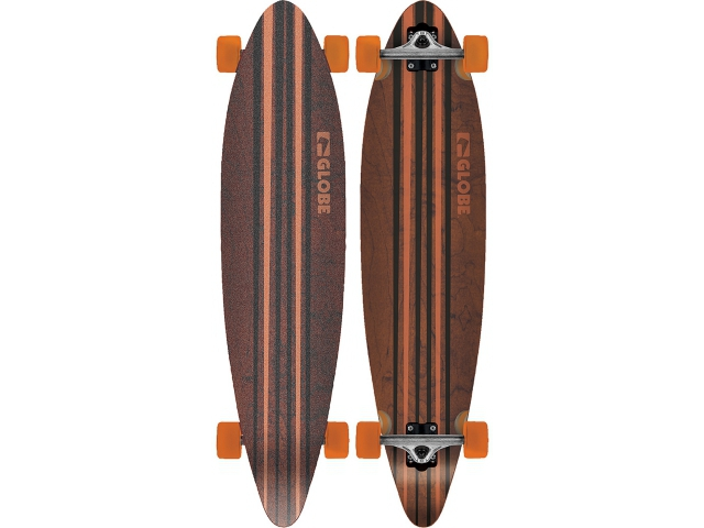 Longboard Globe Pinner Complete Black/orange 41