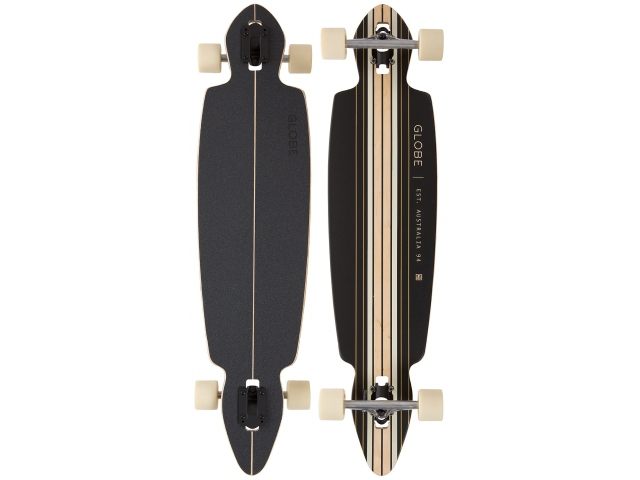 Longboard Globe Pinner Drop Through Black/gold 41