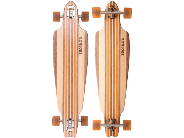 Longboard Globe Prowler V-ply Natural Orange 38.5