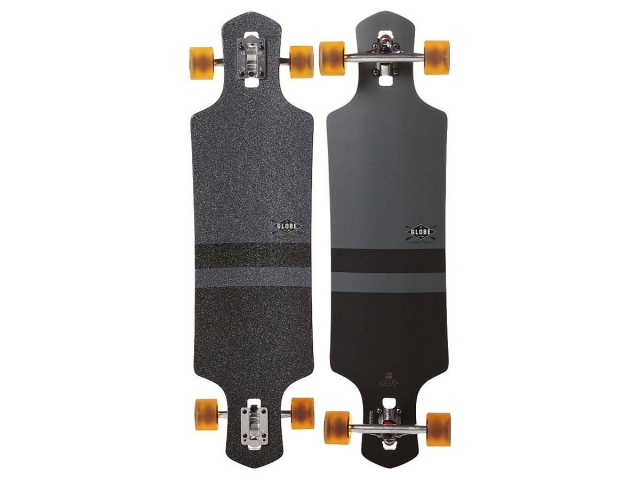 Longboard Globe Geminon Charcoal/black 38