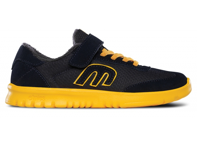 Shoes Copii Etnies Lo-cut Kids Navy/yellow