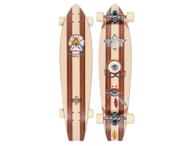 Longboard Dusters Mia Longboard Rosewood 37