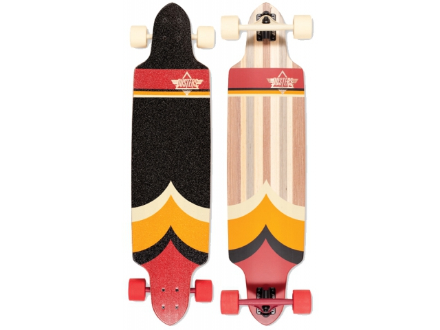 Longboard Dusters Totem Longboard Red/orange 38.5