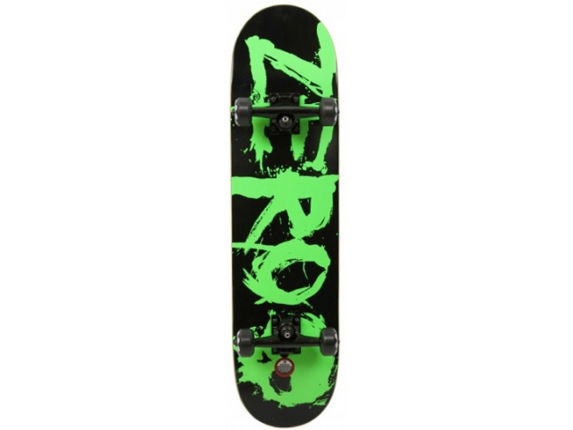 Skate Complet Zero Blood Green 8