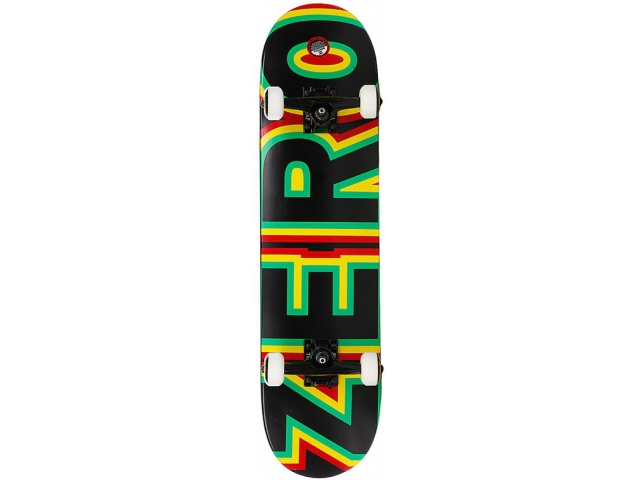 Skate Complet Zero Sandoval Signature Bold Rasta 7.75