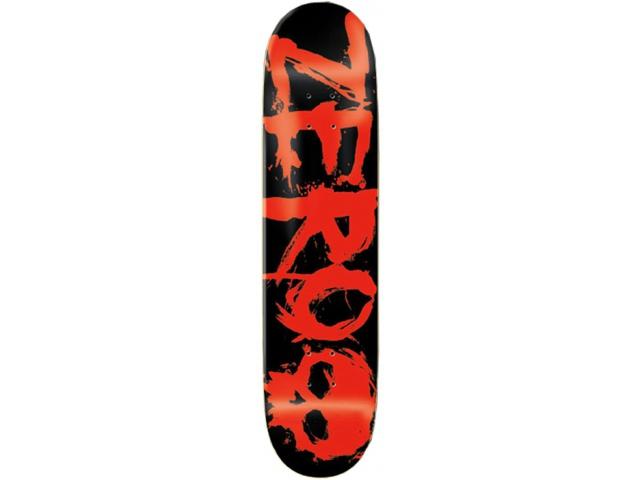 Placa Skate Zero Blood Red 8.1