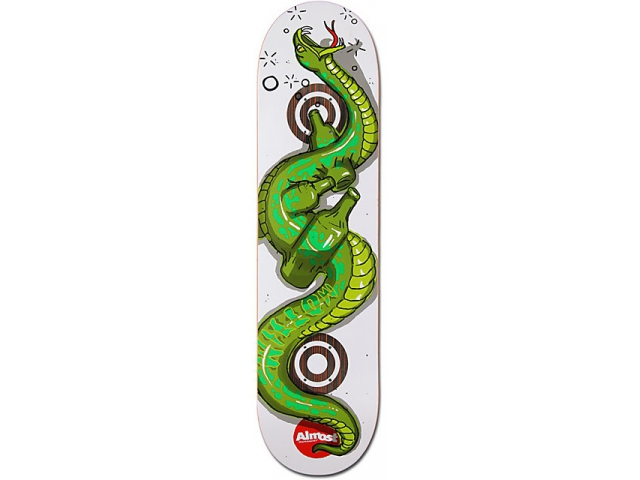 Placa Skate Almost Willow Snakes Double Impact 8