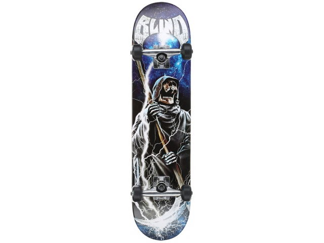 Skate Complet Blind Reaper Scream Blue/black 7.6