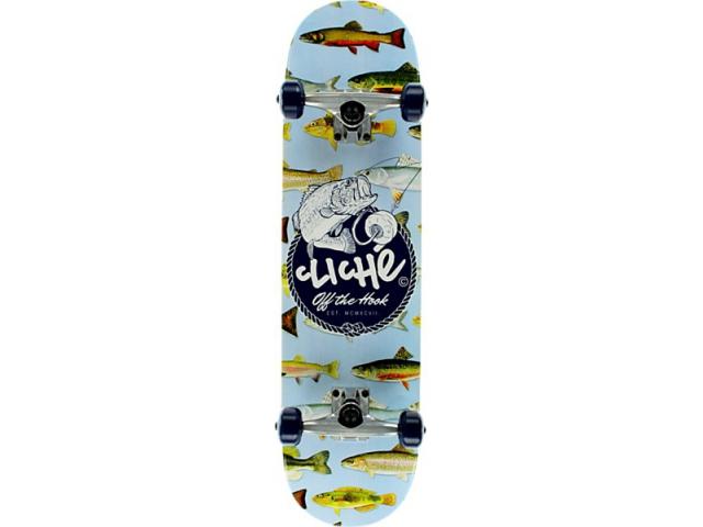 Skate Complet Cliche Hook Blue 7.9