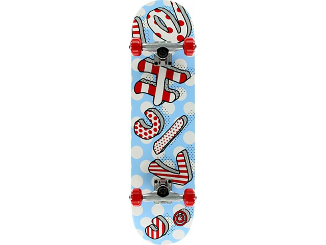 Skate Complet Cliche Blow Up Red/white 7.8