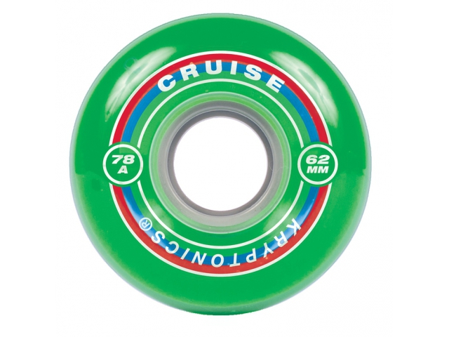 Roti Skate Kryptonics Cruiser Green 62mm