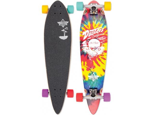 Longboard Dusters Cruisin Tie Dye 34