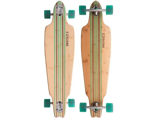 Longboard Globe Prowler Bamboo Clear Green 38.5