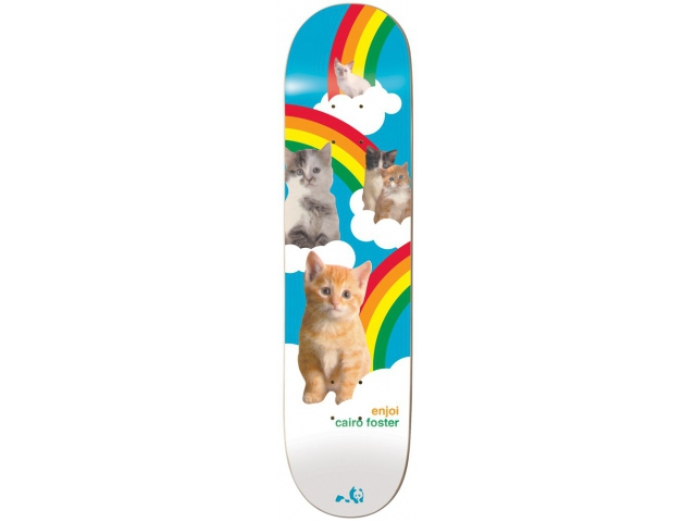 Placa Skate Enjoi Foster Cat Series R7 8.125
