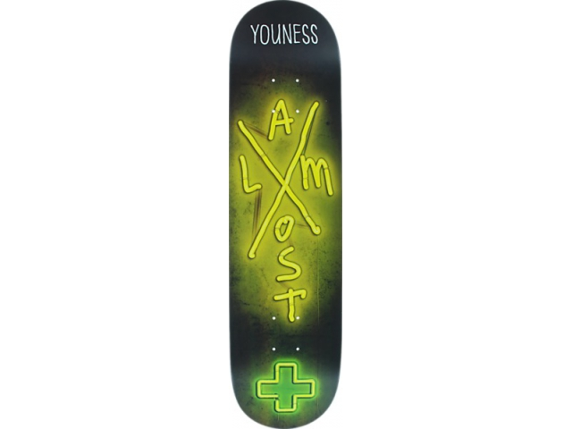 Placa Skate Almost Youness X Neon R7 7.75