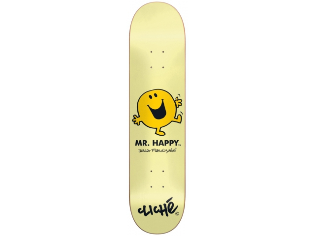Placa Skate Cliche Mendizabal Mr. Men 8.125