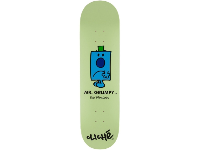 Placa Skate Cliche Mirtain Mr. Men 8.25