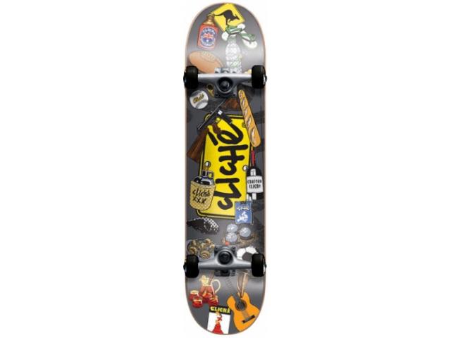 Skate Complet Cliche Icons Multi 7.75