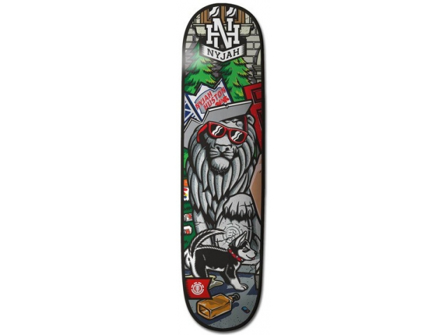 Placa Skate Element Nyjah Animal House L