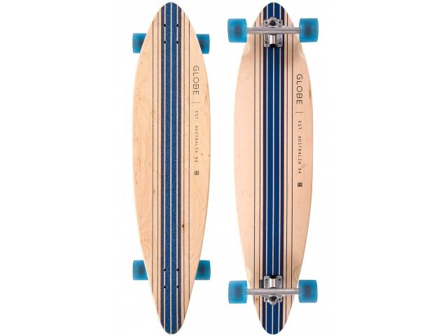 Longboard Globe Pinner Complete Natural/blue 41.25