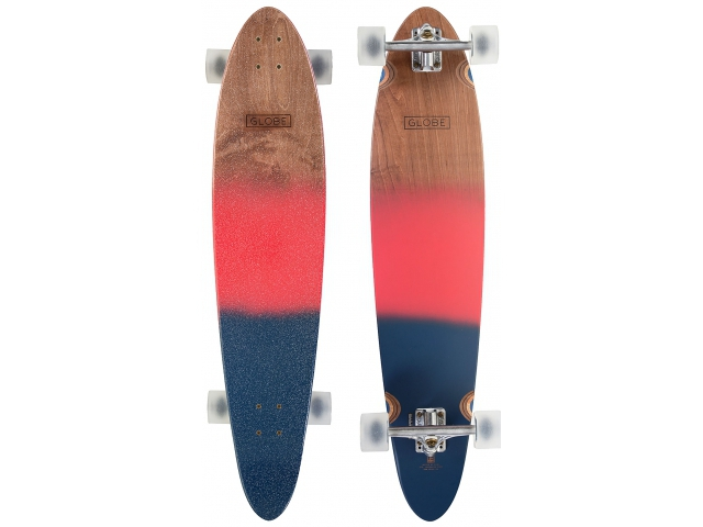 Longboard Globe Pinner Classic Red/navy Spray 40