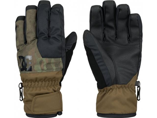 Manusi Snowboard Dc Seger Military Olive