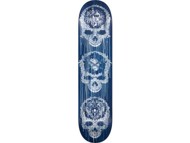 Placa Skate Darkstar Addiction Sl Blue 8.125