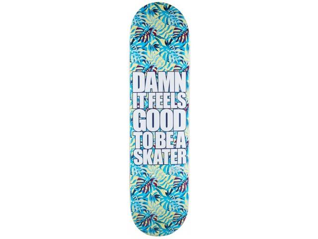 Placa Skate Blind Damn Plantlife Hyb Aqua 8.0