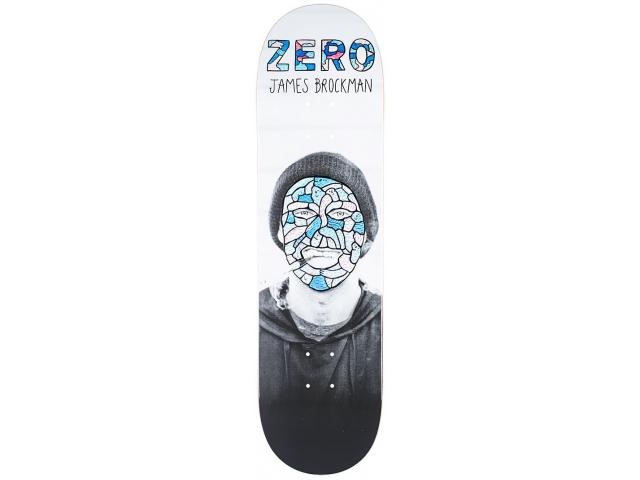 Placa Skate Zero Brockman Re-portrait R7 8.375