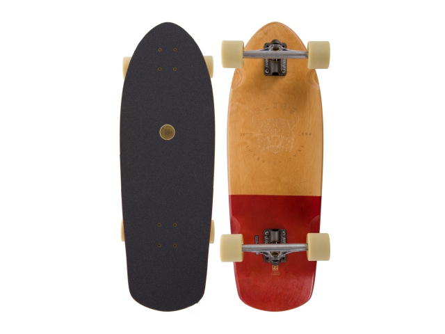 Cruiser Globe Stubby 30 Half Dip Natural Red