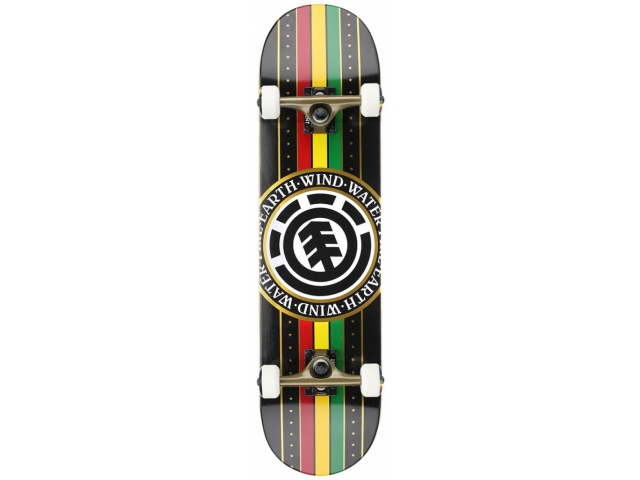 Skate Complet Element Rasta Black Seal 8.0