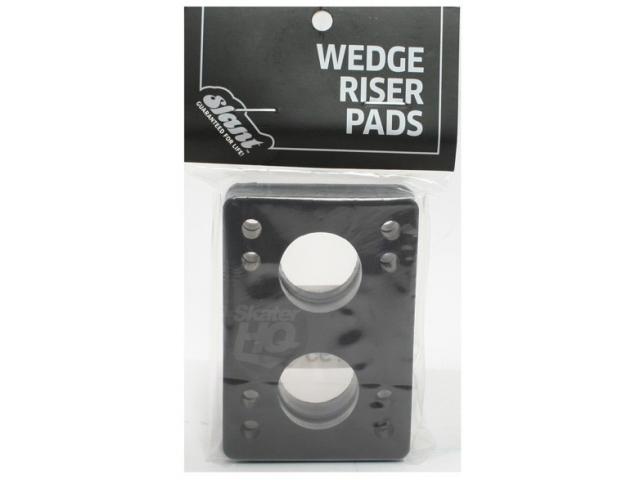 Accesoriu Skate Globe Slant Wedge Risers Black