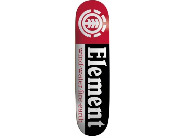 Placa Skate Element Section Black #9 7.75